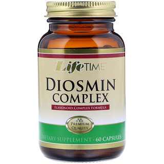 Life Time, Diosmin Complex, 60 Capsules