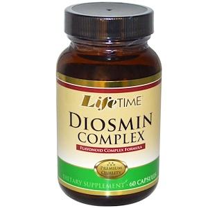 Life Time, Комплекс Диосмин и Гесперидин, 60 капсул