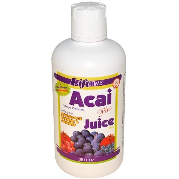 LifeTime Vitamins, Acai Plus Juice Blend, 32 fl oz (Discontinued Item)