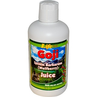 Life Time, Life's Basics Goji Juice Blend, 32 fl oz (946 ml)