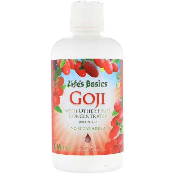 LifeTime Vitamins, Life's Basics Goji Juice Blend, 32 fl oz (946 ml)
