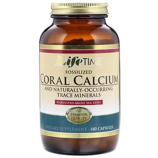 Life Time, Coral Calcium, 180 Capsules