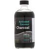 Активированный кокосовый уголь, без запаха, 280 мг, 8 жидких унций (237 мл)