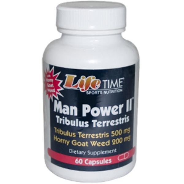 LifeTime Vitamins, Man Power ll, Tribulus Terrestris, 60 Capsules (Discontinued Item)