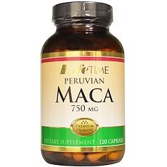 LifeTime Vitamins, ペルビアン・マカ, 750 mg, 120 カプセル