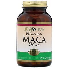 LifeTime Vitamins, 秘魯瑪卡, 750 毫克, 120 膠囊