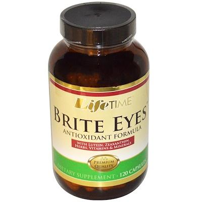 Купить Brite Eyes, антиоксидантная формула, 120 капсул
