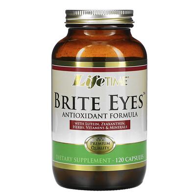 LifeTime Vitamins Антиоксидантная формула Brite Eyes, 120 капсул