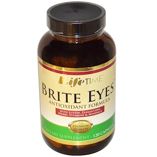 Life Time, Formule antioxydant yeux clairs, 120 capsules