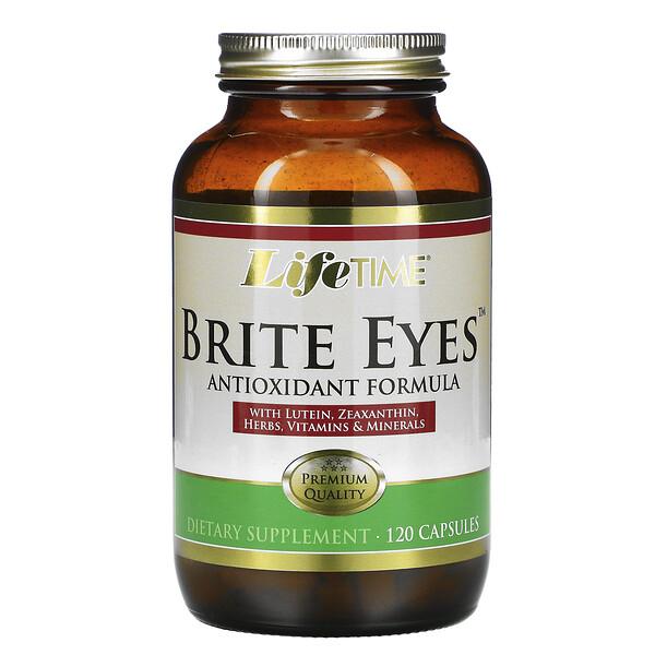 LifeTime Vitamins, Brite Eyes Antioxidant Formula,120 粒膠囊