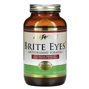 Лайф Тайм, Brite Eyes Antioxidant Formula, 120 Capsules отзывы покупателей