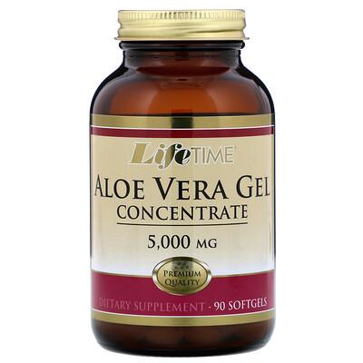 Купить LifeTime Vitamins Aloe Vera Gel Concentrate, 5, 000 mg, 90 Softgels