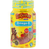 L'il Critters, Omega-3, Raspberry-Lemondade Flavors, 60 Gummies