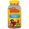 L'il Critters, Omega-3, Natural Raspberry and Lemonade Flavors, 120 Gummies