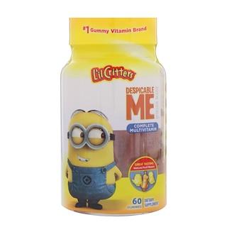 L'il Critters, Despicable Me Complete Multivitamin, Natural Fruit Flavors, 60 Gummies