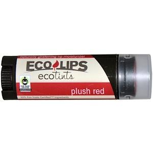 Эко Липс Инк, Ecotints, Lip Moisturizer, Plush Red, .15 oz (4.25 g) отзывы покупателей
