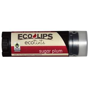 Эко Липс Инк, Ecotints, Lip Moisturizer, Sugar Plum, .15 oz (4.25 g) отзывы покупателей