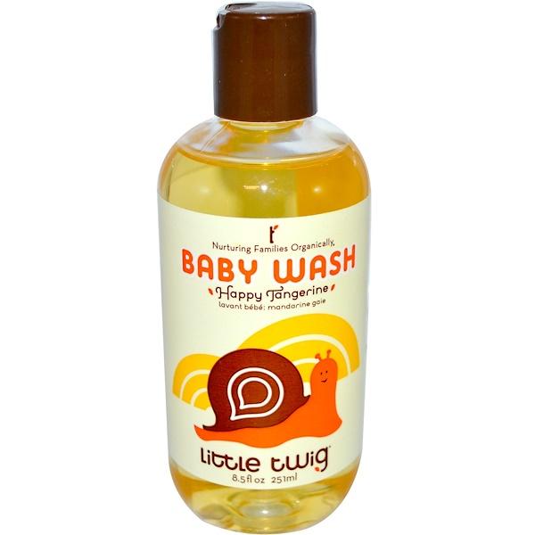 Little Twig, Baby Wash, Happy Tangerine, 8.5 fl oz (251 ml) (Discontinued Item)