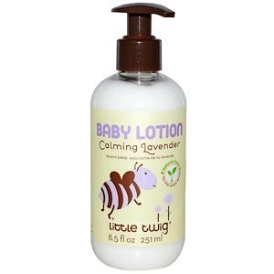Литтл Твиг, Baby Lotion, Calming Lavender, 8.5 fl oz (251 ml) отзывы