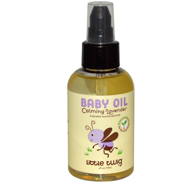 Little Twig, Baby Oil, Calming Lavender, 4 fl oz (118 ml) (Discontinued Item)