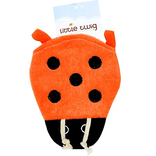 Little Twig, Lady Bug Bath Mitt