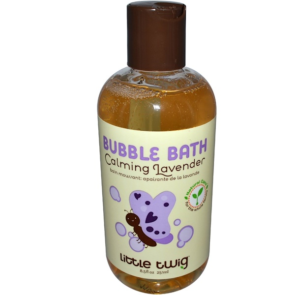 Little Twig, Bubble Bath, Calming Lavender, 8.5 fl oz (251 ml) (Discontinued Item)