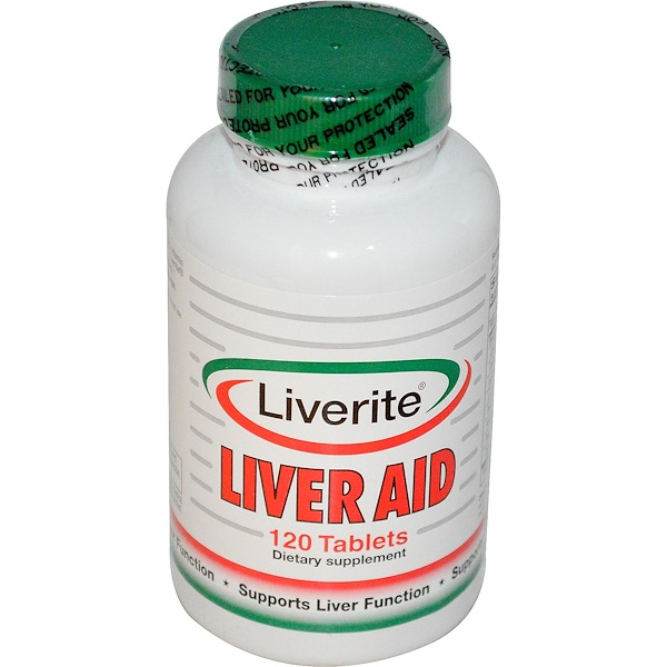 Liverite, Liver Aid, 120 Tablets (Discontinued Item)