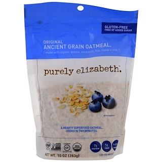 Purely Elizabeth, Organic Ancient Grain Oatmeal, Original, 10 oz (283 g)