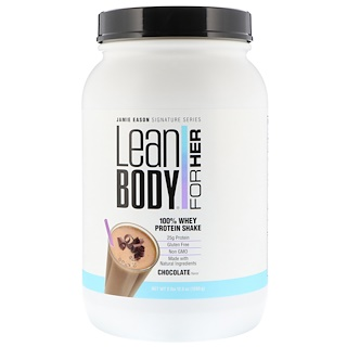 Jamie Eason, Lean Body for Her, 100% Whey Protein Shake, Chocolate, 2 lbs (1260 g)