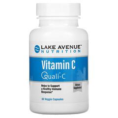 Lake Avenue Nutrition, ビタミンC、Quali-C(クオリC)、1,000mg、ベジカプセル60粒