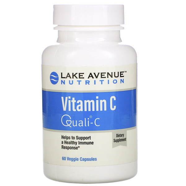 Lake Avenue Nutrition, Quali-C, Vitamina C, 1000 mg, 60 cápsulas vegetales