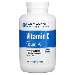 Lake Avenue Nutrition, VitaminC, Quali-C, 1.000mg, 365vegetarische Kapseln