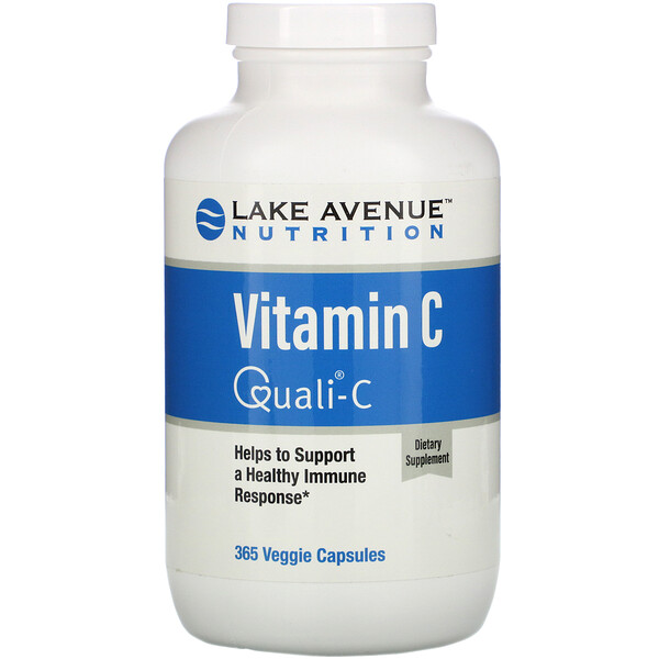 Lake Avenue Nutrition, Vitamin C, Quali-C, 1,000 mg, 365 Veggie Capsules