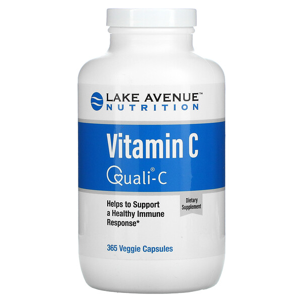 Quali-C, VitaminaC, 1000mg, 365cápsulas vegetales