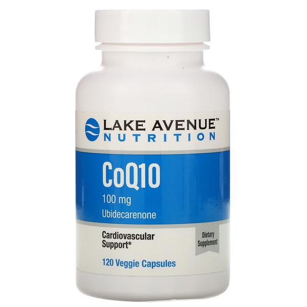 CoQ10, USP-Standard, 100mg, 120vegetarische Kapseln