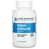 Lake Avenue Nutrition, пробиотики, 10активных штаммов, 25млрдКОЕ, 180растительных капсул