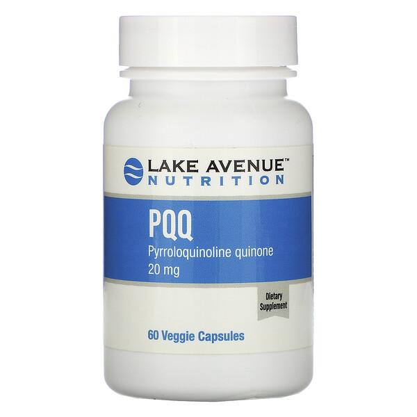 PPQ (pirroloquinolina quinona), 20mg, 60cápsulas vegetales