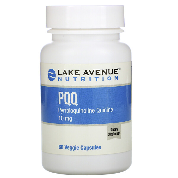 PPQ (pirroloquinolina quinona), 10mg, 60cápsulas vegetales