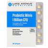 Lake Avenue Nutrition, Probiotic Minis, 2 Strains of Healthy Bacteria, 1 Billion CFU, 90 Mini Softgels