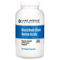 Lake Avenue Nutrition, Branched-Chain Amino Acids, 240 Veggie Capsules