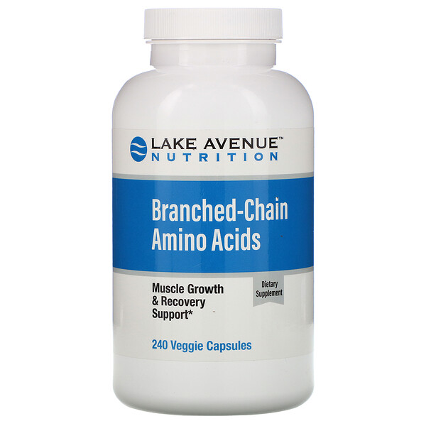 Branched-Chain Amino Acids, 240 Veggie Capsules