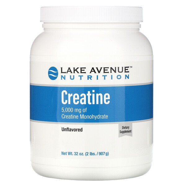 Creatine Powder, Unflavored, 5,000 mg, 32 oz (907 g)