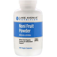 Noni Fruit Powder, Organic Whole Fruit Powder, 360 Veggie Capsules - фото