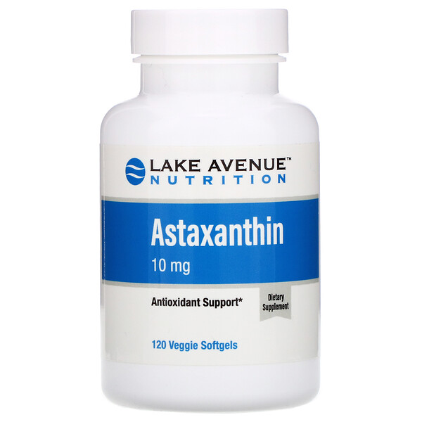 Astaxanthin, 10 mg, 120 Veggie Softgels