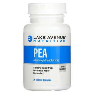 Lake Avenue Nutrition, PEA (Palmitoylethanolamide), 300 mg, 30 Veggie Capsules
