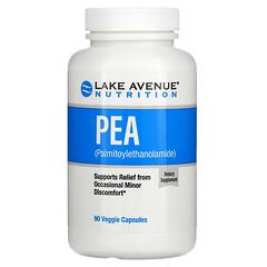 Lake Avenue Nutrition, PEA (Palmitoylethanolamid), 300mg, 90vegetarische Kapseln