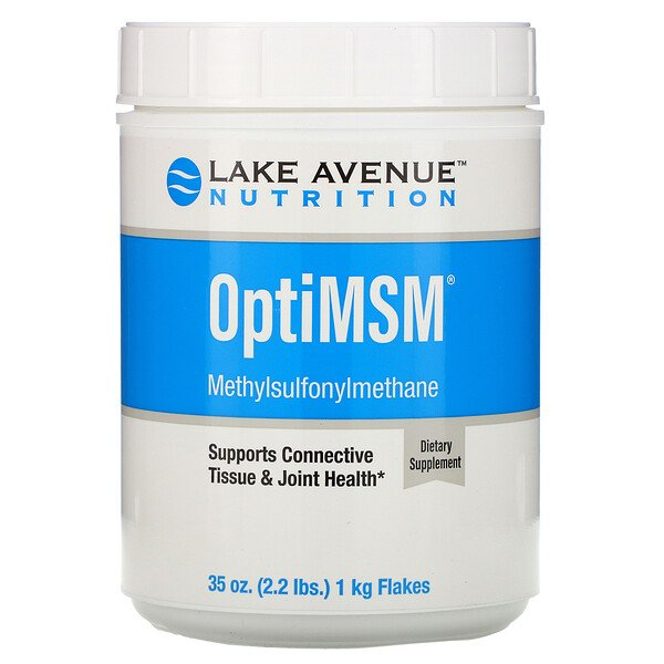 Lake Avenue Nutrition, رقائق OptiMSM، وزن 35 أونصة (992 جم)