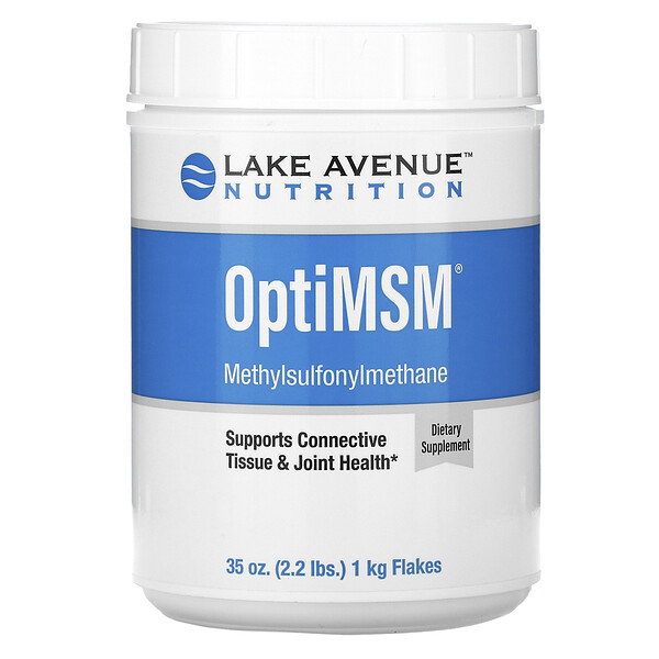 Lake Avenue Nutrition, OptiMSM Flakes, 35 oz (2.2 lbs.) 1 kg