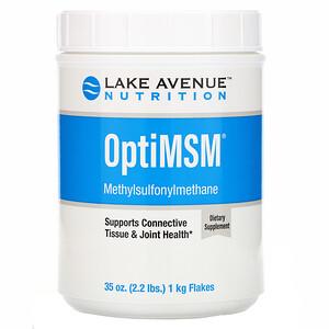 Lake Avenue Nutrition, OptiMSM Flakes, 35 oz (992 g)'