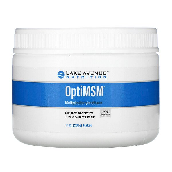 Lake Avenue Nutrition, OptiMSM, Copos, 200 g (7 oz)